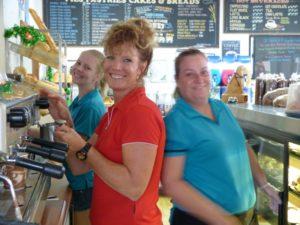 Bucks Bakery Happy Barista & Staff