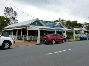 Bakery Has Ample Parking and Seating